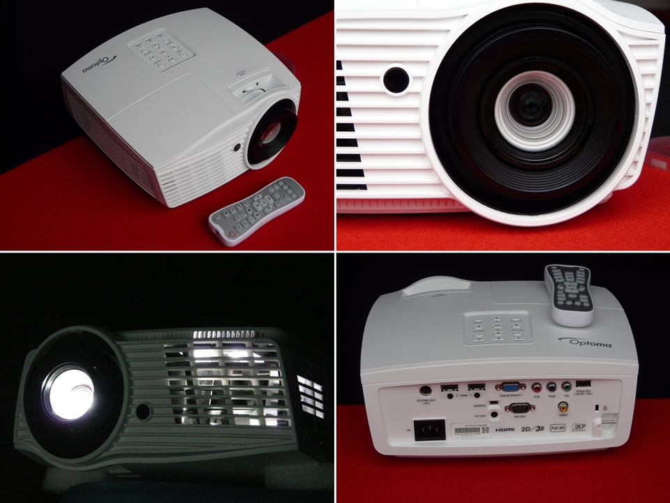 Optoma hd161x review of the projector for Smallest full hd projector